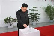 Ông Kim Jong Un vào quốc hội với số phiếu tuyệt đối