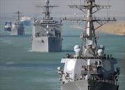 Tàu khu trục Mỹ lại tập trận trên Biển Đen