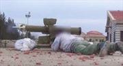 Tên lửa Konkurs phá tan tháp nước binh sĩ Syria ẩn nấp