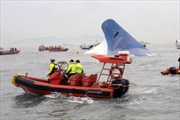 Vụ đắm phà tại Hàn Quốc: Số người thiệt mạng tăng lên 14 người