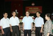 Các Đoàn đại biểu Quốc hội tiếp xúc cử tri