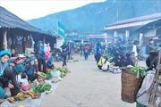 Sắc xanh chợ phiên Ý Tý