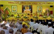 Ban Chỉ đạo Tây Nguyên chúc mừng giới Phật giáo Lâm Đồng
