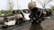 Binh sĩ Ukraine thiệt mạng do bom tại miền Đông