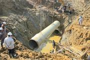 Đã có phương án kiểm tra, tìm nguyên nhân gây vỡ ống dẫn nước sông Đà