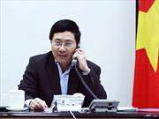 Phó Thủ tướng Phạm Bình Minh điện đàm với Ủy viên Quốc vụ Trung Quốc về vụ giàn khoan