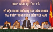 Trung Quốc đưa cả tàu quân sự vào vùng biển Việt Nam