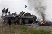 Các tay súng Ukraine tấn công đồn biên phòng giáp biên giới với Nga