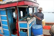Ngư dân Lý Sơn phản đối Trung Quốc hạ giàn khoan trái phép