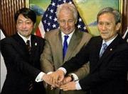Bộ trưởng quốc phòng Mỹ, Nhật, Hàn gặp nhau cuối tháng này