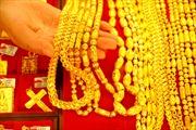 Giá vàng xuống mức thấp nhất tuần