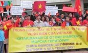 Người Việt tại Bungari mít tinh phản đối Trung Quốc