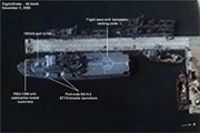 Chụp được ảnh vệ tinh 2 tàu chiến mới của Triều Tiên