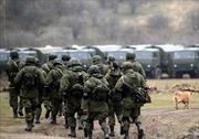 Binh sĩ Nga chưa rút khỏi biên giới với Ukraine