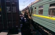 2 tàu hỏa đâm nhau ở Nga