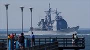 Mỹ điều tuần dương hạm tên lửa tới Biển Đen