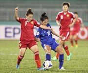 VCK bóng đá nữ châu Á: Việt Nam thất bại trước ngưỡng cửa lịch sử