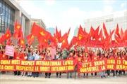 Việt kiều tại Bỉ phản đối Trung Quốc xâm phạm chủ quyền