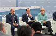 Lãnh đạo Đức, Nga, Pháp điện đàm về Ukraine
