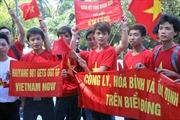 Biểu tình tại Malaysia yêu cầu Trung Quốc tuân thủ luật pháp