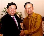 Việt Nam – Lào thúc đẩy hợp tác đầu tư