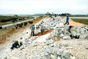 Đê biển Đông và Tây ở Cà Mau sạt lở nghiêm trọng