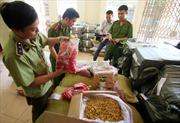 Hà Nội: Phát hiện kho hoa quả cao cấp đã hỏng