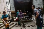 Thủ tướng Ukraine yêu cầu Nga phong tỏa biên giới