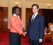 Thủ tướng Nguyễn Tấn Dũng tiếp Giám đốc WB tại Việt Nam