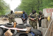 Tự vệ Slavyansk học kinh nghiệm chiến đấu của Triều Tiên