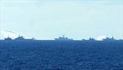 Tàu Trung Quốc hung hãn, đâm trực diện tàu kiểm ngư Việt Nam