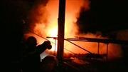 10 tỉ đồng ra tro trong vụ cháy tại Xí nghiệp Bản đồ Đà Lạt