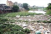 Nước sông Nhuệ ô nhiễm trên báo động cấp 3