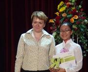 Đoàn Việt Nam giành giải cao tại Olympic tiếng Nga quốc tế