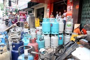 Bình ga nổ như bom tại quán bia phố Tô Hiệu-Hà Nội