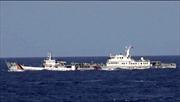 Tàu Cảnh sát biển và Kiểm ngư Việt Nam vào sát giàn khoan 981