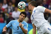 Uruguay-Anh (2-1): Khi Suarez trở lại