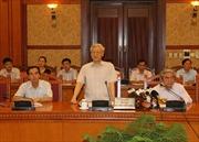 Tổng Bí thư làm việc với Thường trực Hội đồng Lý luận Trung ương