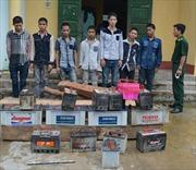 Bắt nhóm đối tượng trộm cắp tại Cửa khẩu quốc tế Lao Bảo