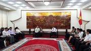 Đoàn Ủy ban trung ương Mặt trận Lào Xây dựng đất nước thăm và làm việc tại Bắc Ninh