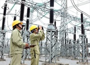 Đóng điện máy biến áp AT2 tại trạm 500kV Hiệp Hòa