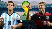 So sánh sức mạnh Đức-Argentina trước trận chung kết
