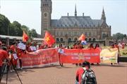 Biểu tình phản đối Trung Quốc tại La Haye, Hà Lan