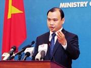Yêu cầu Trung Quốc không đưa các giàn khoan trở lại vùng biển của Việt Nam