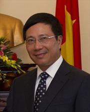 Phó Thủ tướng Phạm Bình Minh trao huân chương cho các nhà ngoại giao Bỉ