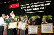 """Truy tặng 831 danh hiệu """"Bà Mẹ Việt Nam Anh hùng"""""""
