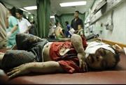 Israel nã pháo vào trường học ở Gaza