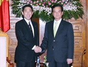 Thủ tướng tiếp Bộ trưởng Ngoại giao Nhật Bản