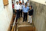 TP.HCM: Kiểm tra nguồn nước tại ổ dịch tiêu chảy