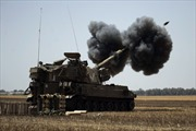 Miền nam Israel trúng rocket từ Dải Gaza